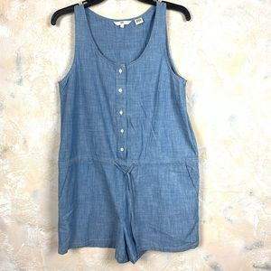 Levi's Light Wash Denim Romper